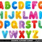 Printable Alphabet Letters Clipart   Free Clipart   Free Printable Clip Art Letters