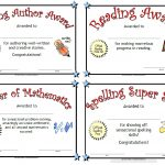 Printable Awards   Free Printable Honor Roll Certificates Kids