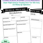 Printable Bible Study Guide   Jeff's   Bible Study Guide, Inductive   Free Printable Bible Study Lessons For Adults