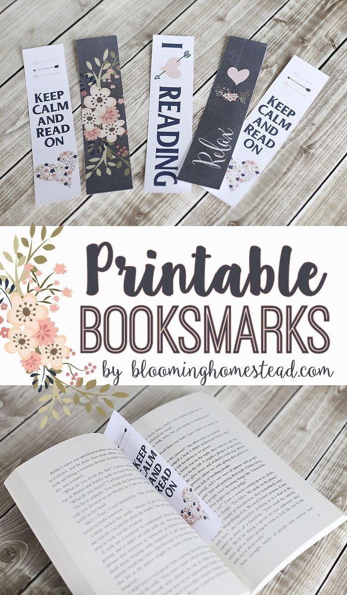 Printable Bookmarks & My New Favorite Book | Organizational - Free Printable Bookmarks For Libraries