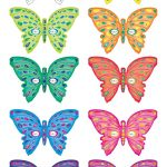 Printable Butterfly Masks   Coolest Free Printables | Saving In 2019   Free Printable Butterfly Cutouts