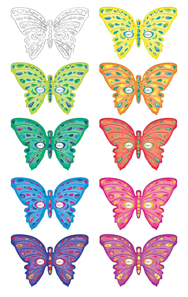 Printable Butterfly Masks - Coolest Free Printables | Saving In 2019 - Free Printable Butterfly Cutouts