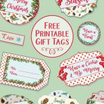 Printable Christmas Gift Tags | Christmas Gifts | Christmas Gift   Free Printable Christmas Food Labels