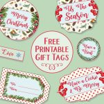 Printable Christmas Gift Tags   Free Printable Christmas Food Labels