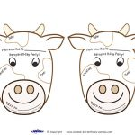 Printable Cow Invitations   Coolest Free Printables   Cow Printables   Free Printable Cow Birthday Invitations