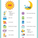 Printable Daily Routine Chart   Kid To Kid   Free Printable Morning Routine Chart