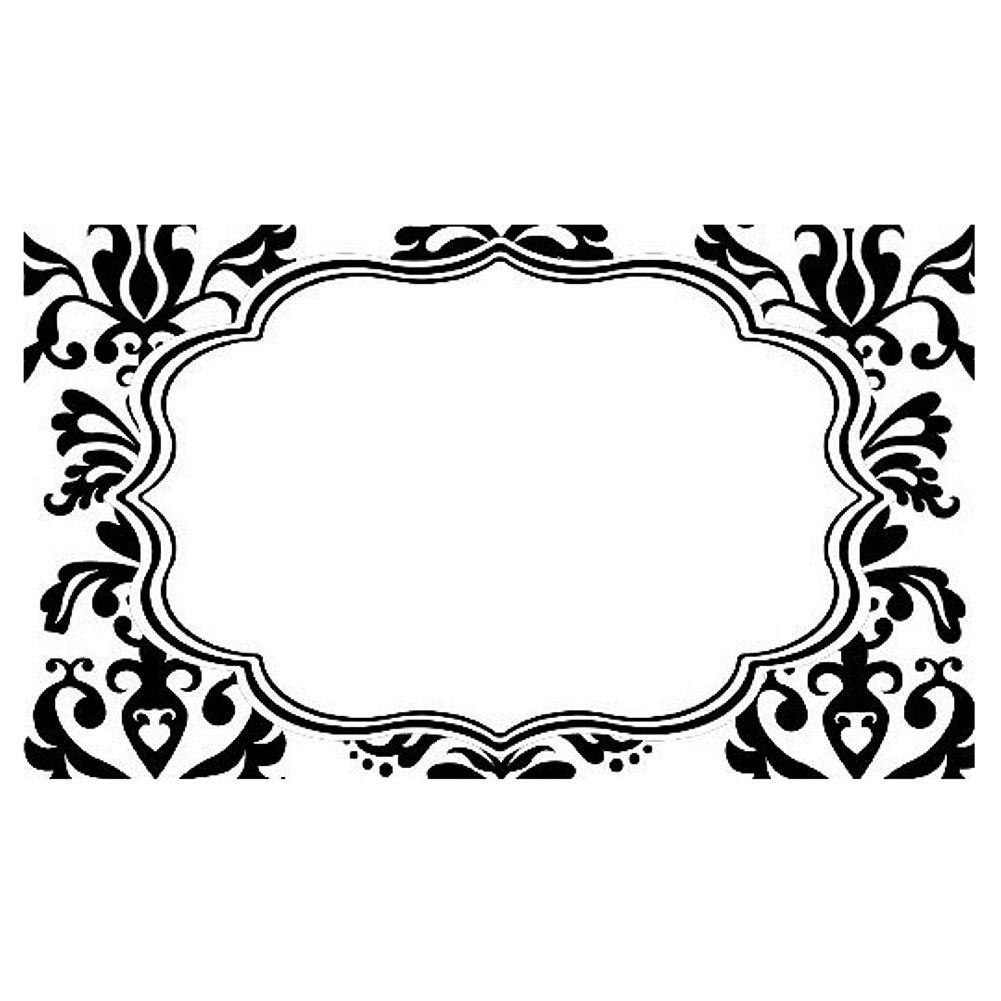 Printable Damask Butterfly Place Cards - Căutare Google | Tiffiny's - Free Printable Damask Place Cards