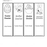 Printable Easter Bookmarks – Happy Easter & Thanksgiving 2018 – Free Printable Religious Easter Bookmarks