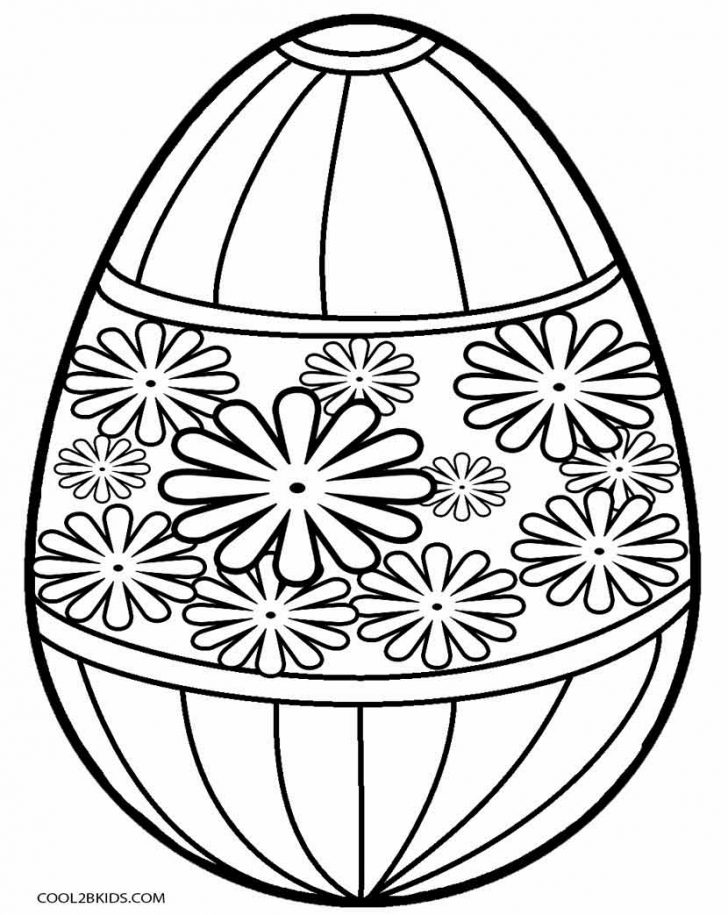 Free Printable Easter Basket Coloring Pages