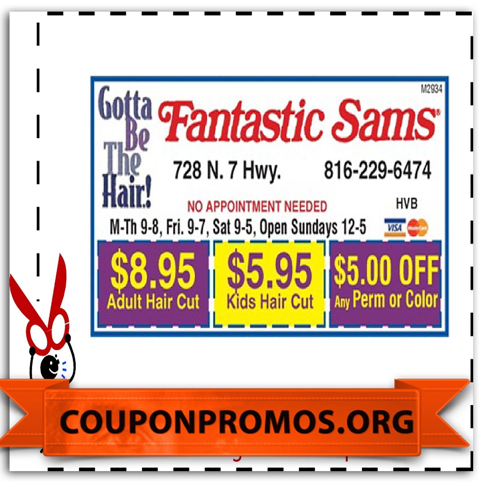 Printable Fantastic Sams Coupons For January | January Coupons 2015 - Free Printable Coupons For Fantastic Sams