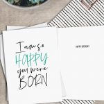 Printable Funny Birthday Card Instant Download Digital Greeting Card   Free Printable Funny Birthday Cards For Coworkers