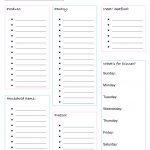 Printable Grocery List   Raising Redheads   Free Printable Grocery List