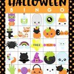 Printable Halloween Bingo Cards   Happiness Is Homemade   Free Printable Halloween Cards