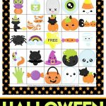 Printable Halloween Bingo Cards   This Halloween Bingo Game Is A Ton   Free Printable Halloween Bingo