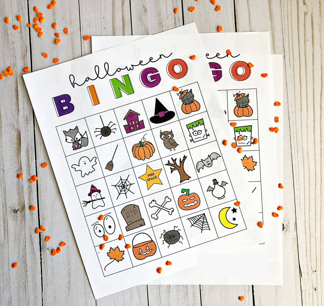 Printable Halloween Bingo - Free Printable Halloween Bingo