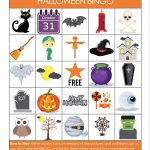 Printable Halloween Bingo Game   Glue Sticks And Gumdrops   Free Printable Halloween Bingo