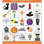 Printable Halloween Bingo Game   Glue Sticks And Gumdrops   Free Printable Halloween Bingo