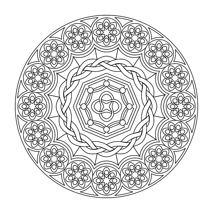 Printable Mandalas (The Boys Love To Color These) | Kids & Family - Free Printable Mandala Patterns