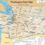 Printable Map Of Washington State And Travel Information | Download – Free Printable Map Of Washington State