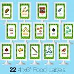 Printable Minecraft Food Labels   Creative Little Parties   Free Printable Tmnt Food Labels