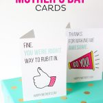 Printable Mother's Day Cards   Free Spanish Mothers Day Cards Printable