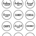Printable Pantry Labels – Free Printable Pantry Labels