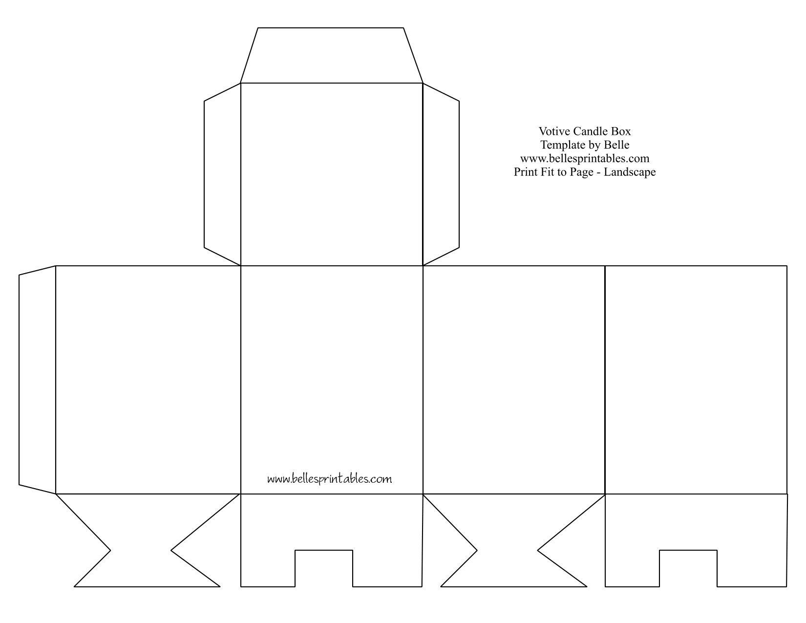 Printable Purse Template | Cute Paper Gift Box With Free Printable - Gift Box Templates Free Printable