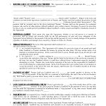 Printable Residential Free House Lease Agreement | Residential Lease   Blank Lease Agreement Free Printable