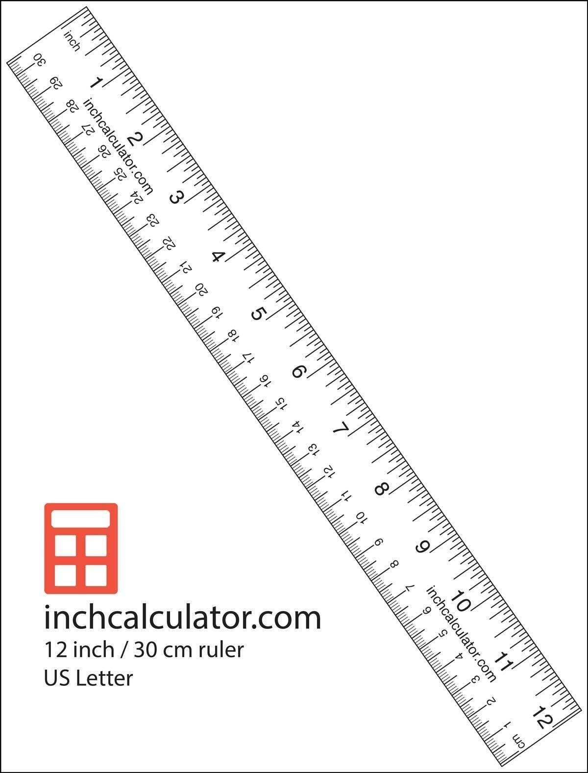 "Printable Rulers - Free Downloadable 12"" Rulers | Anthropology - Free Printable Cm Ruler"