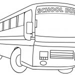 Printable School Bus Coloring Page For Kids | Cool2Bkids   Free Printable School Bus Template
