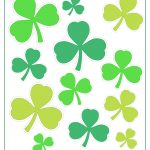 Printable Shamrock Templates | Printable Shape Templates   Free Printable Shamrocks