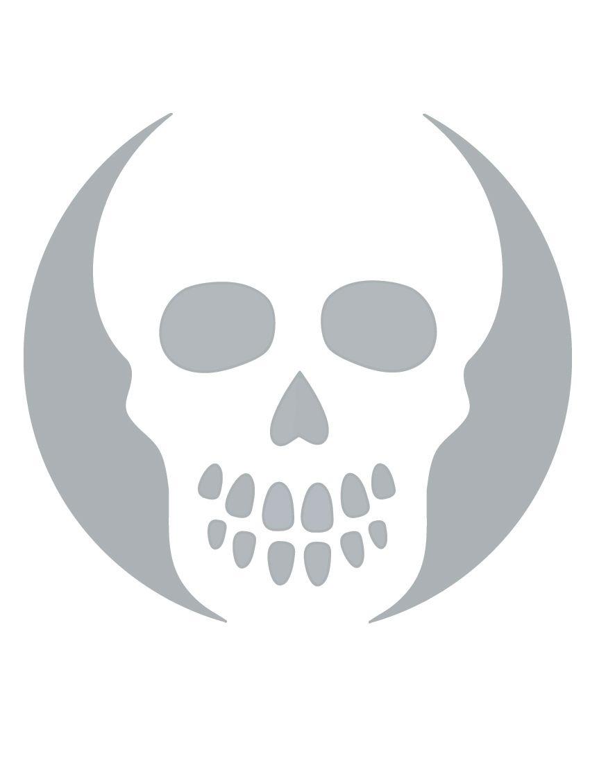 Printable Skull Stencil Coolest Free Printables | Halloween | Skull - Free Printable Pumpkin Carving Stencils For Kids