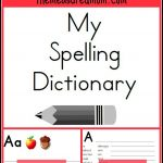 Printable Spelling Dictionary For Kids   For My Students   Escuela   My Spelling Dictionary Printable Free