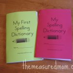 Printable Spelling Dictionary For Kids   Free Cute Printables   My Spelling Dictionary Printable Free