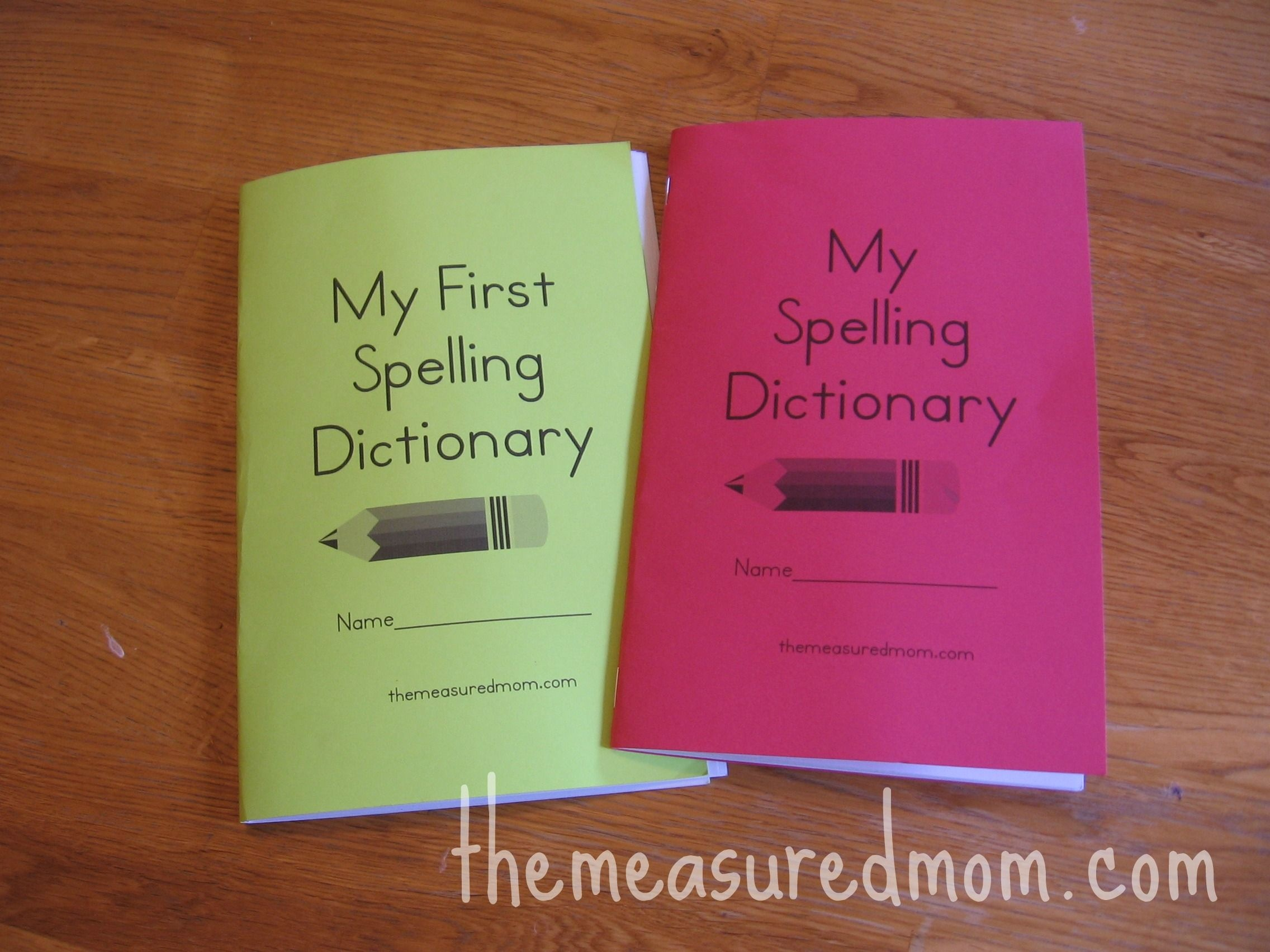 Printable Spelling Dictionary For Kids | Free Cute Printables - My Spelling Dictionary Printable Free