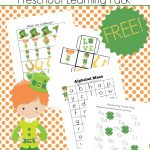 Printable St Patricks Day Activities For Preschoolers – Free Printable March Activities