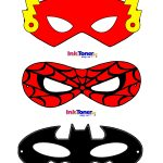 Printable Superhero Masks For Super Hero Day | Inkntoneruk Blog - Free Printable Superhero Masks