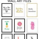 Printable Wall Art   Print Wall Decor And Poster Prints For Your   Free Printable Artwork For Home