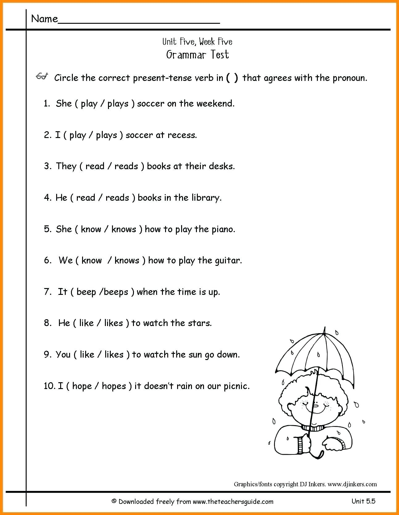 Pronoun Practice Worksheets – Karyaqq.club - Free Printable Pronoun Worksheets For 2Nd Grade