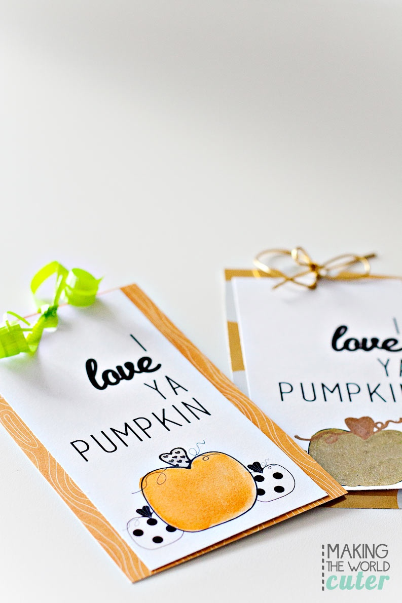 Pumpkin-Gift-Tags - Free Printable Pumpkin Gift Tags