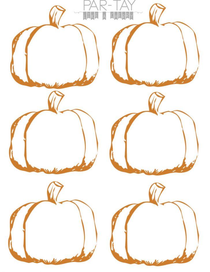 Free Printable Pumpkin Gift Tags