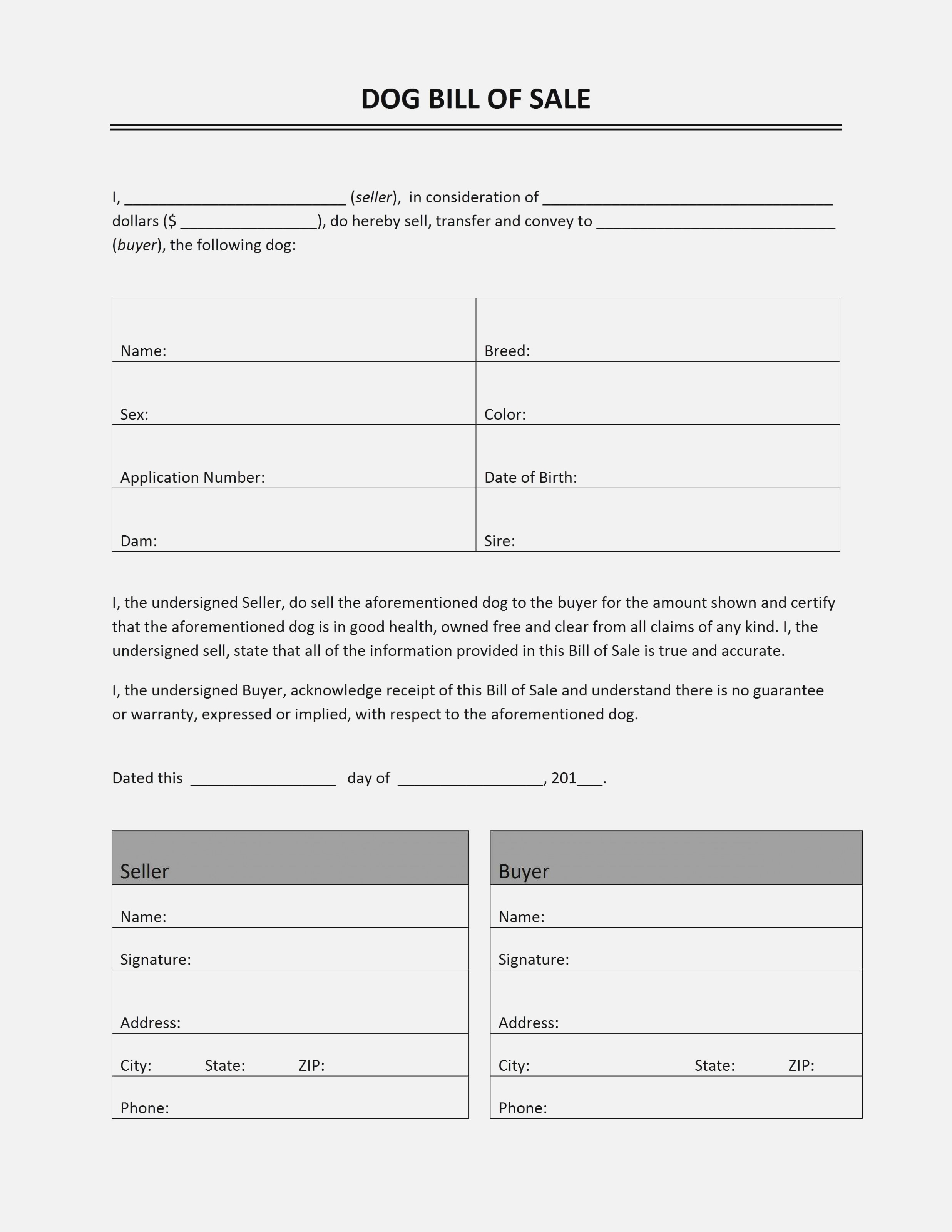 Puppy Contract Template - Kaza.psstech.co - Free Printable Puppy Sales Contract