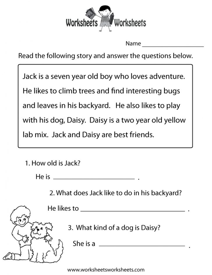 Free Printable Groundhog Day Reading Comprehension Worksheets