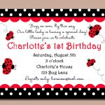 Red Ladybug Invitation Or Printed With Free Shipping   Customized   Free Printable Ladybug Invitations