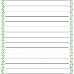 Regular Lined Free Printable Stationery For Kids, Regular Lined Free   Writing Borders Free Printable