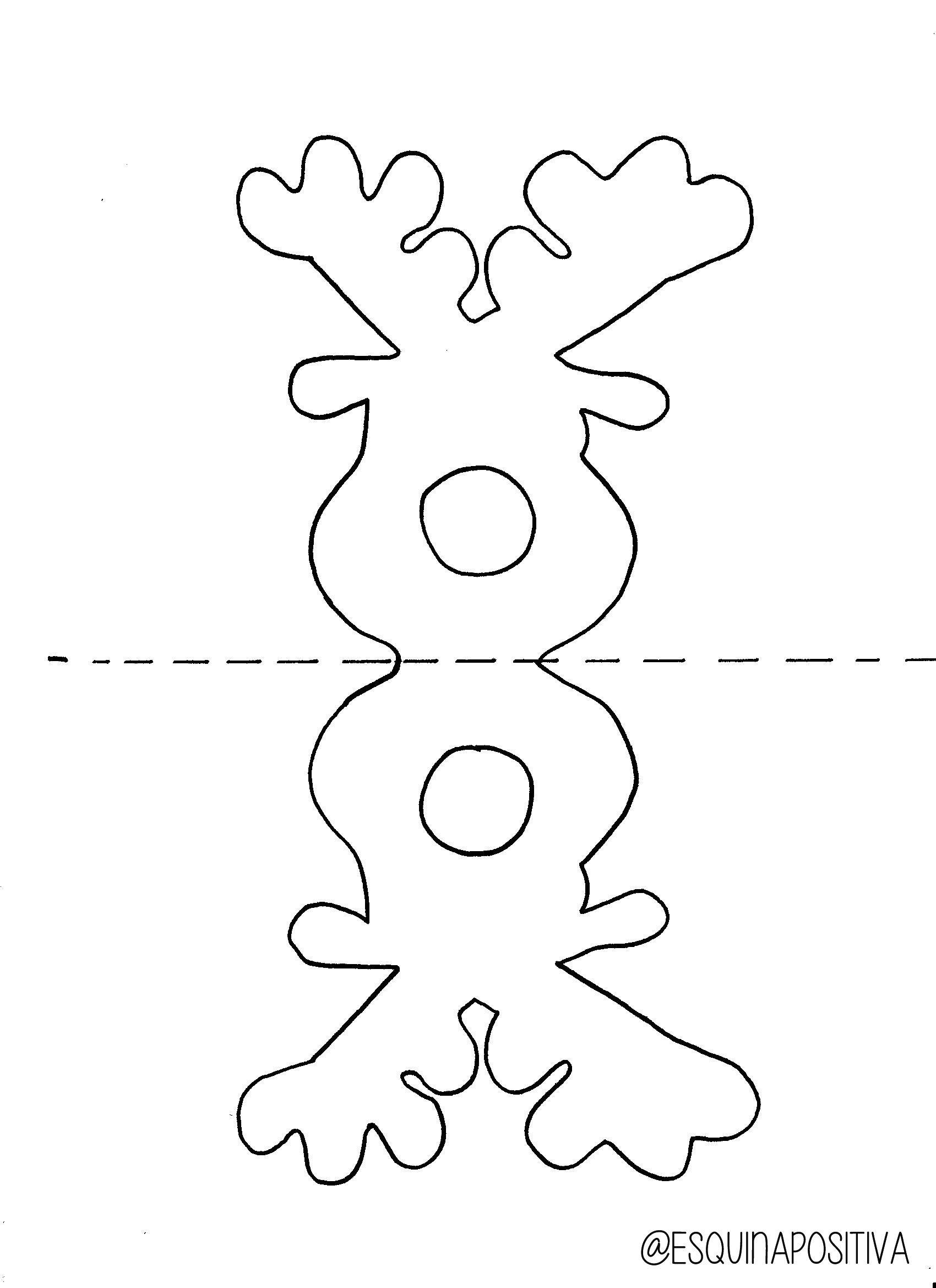 Reindeer Chupa Chups Template - Google Search   Diy And Crafts - Free Printable Reindeer Lollipop Template