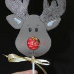 Reindeer Lollipop Card Tutorial | Christmas Ideas | Christmas   Free Printable Reindeer Lollipop Template