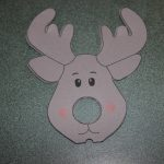 Reindeer Lollipop Card Tutorial | Create It Stitchery   Free Printable Reindeer Lollipop Template