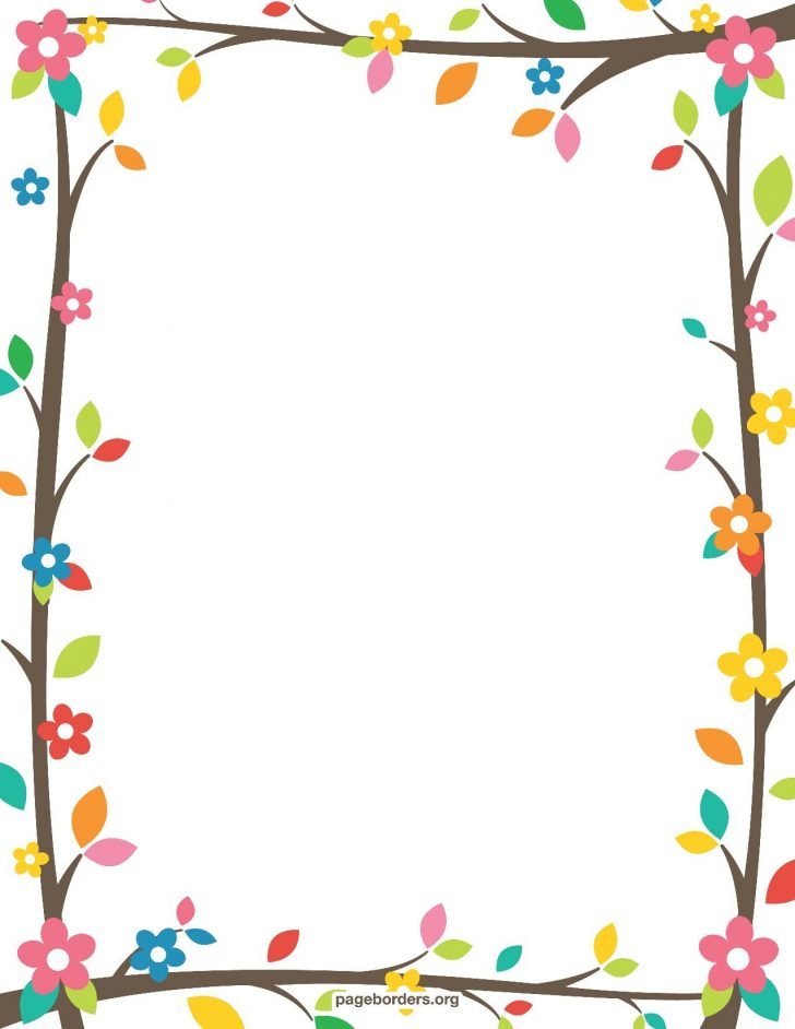 Free Printable Summer Borders