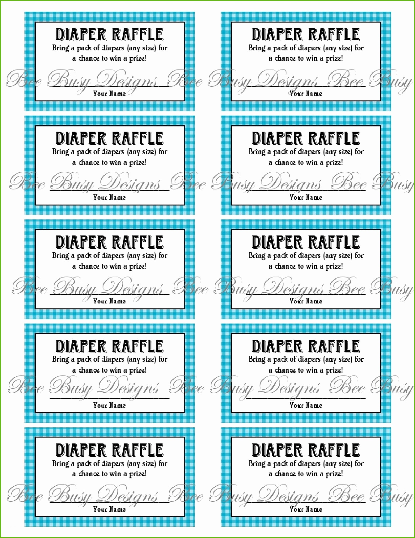 Review Free Printable Diaper Raffle Tickets For Baby Shower - Ideas - Free Printable Baby Shower Diaper Raffle Tickets